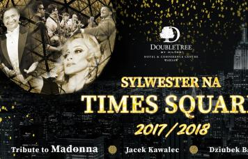 Oferty sylwestrowe - Sylwester na Times Square w DoubleTree by Hilton Warsaw